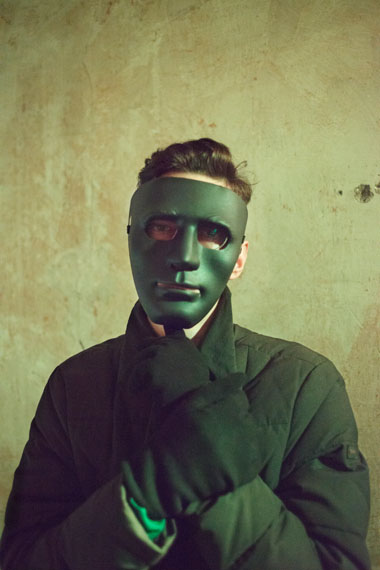 Tobias Zielony: Mask, 2017. From the series Maskirovka© Tobias Zielony, Courtesy KOW Berlin