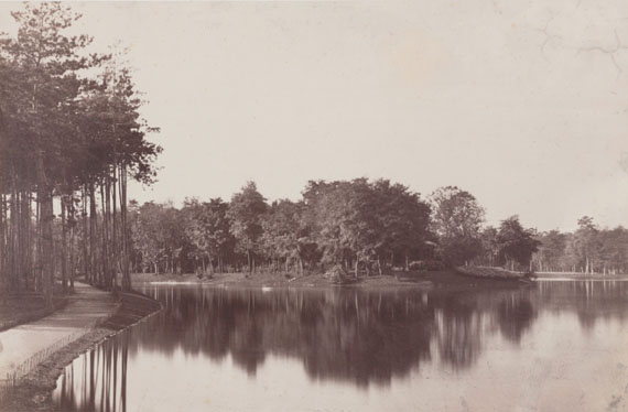 Charles MarvilleBois de Boulogne, Parisc. 1865-7036.20 x 23.70 cmAlbuminabzug