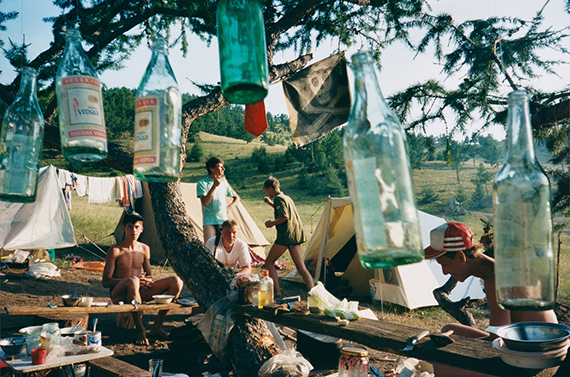 """Lake Baïkal, Campsite 1993, from the series """"Let's sit down before we go"""", 25,3 x 35 cm, C-Print, Ed. of 10 + 2 AP's"""