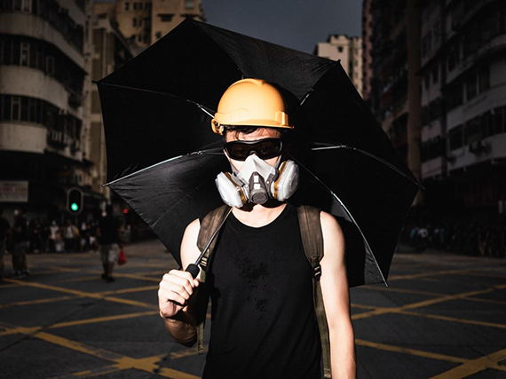 "Sebastian Wells: aus der Serie ""Hong Kong Protests"", 2019 © Sebastian Wells"