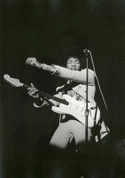 Jimi Hendrix, Rheingold Festival, New York, 1967© Paul McCartney/Fotografin Linda McCartneyCourtesy Sammlung Reichelt und Brockmann