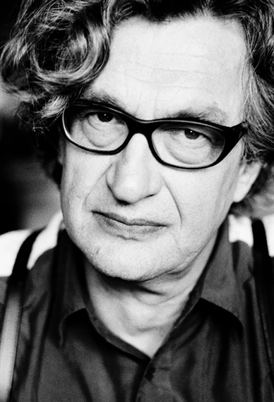 Wim Wenders, Berlin, 2005 © Birgit Kleber
