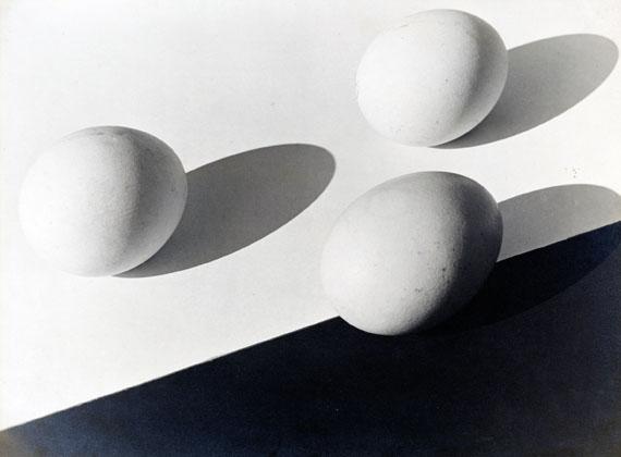 Aenne BiermannUntitled (Three Eggs), 1928Gelatin silver print, 44,6 x 60 cmMuseum Folkwang, Essen
