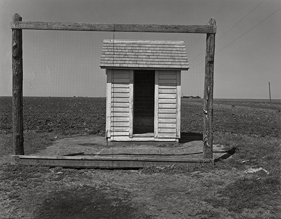 Wright Morris, Outhouse, Nebraska, 1947 © Estate of Wright Morris