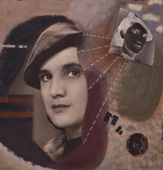 Marta Hoepffner, Selbstbildnis, 1935 © Estate Marta Hoepffner