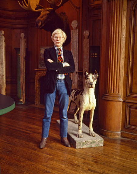 Evelyn Hofer, Andy Warhol, New York, 1980 