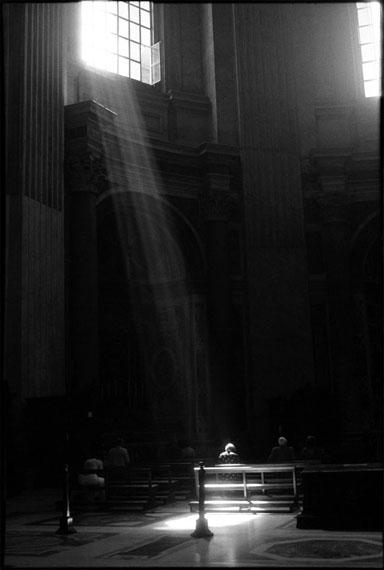 Matthias Leupold: Basilica di San Pietro, Rome, 1997