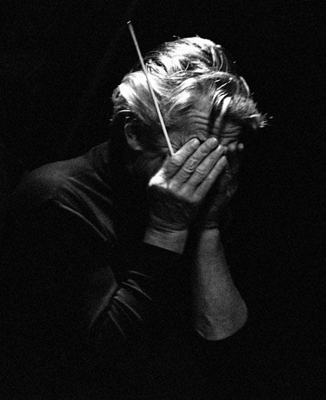 Herbert von Karajan, St. Moritz, 1969 © Robert Lebeck