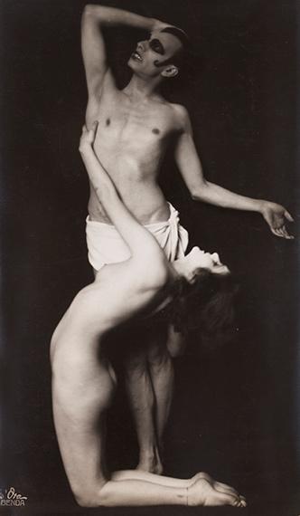 170. Dora KALLMUS - Arthur BENDADie Tänze des Lasters des Grauens und der Ekstase, c. 1922.Anita Berber and Sebastian Droste.Gelatin silver print (c. 1930).