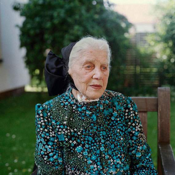 Schütt: Maria Mirtschink, Katholische Sorbin, Lausitz, 2010