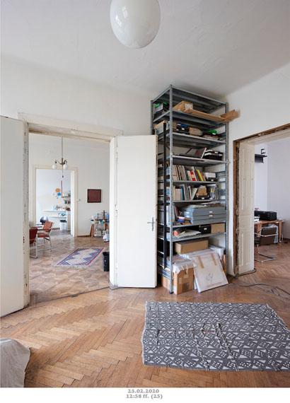 Christian Wachter: Come in. Please! (arbeiten-corona-wohnen), 2020