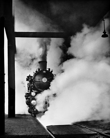 René Groebli: Magie der Schiene (Rail Magic), #599, 1949, 58 x 45 cm, Ed. 7