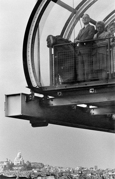 Roger Melis: Centre Pompidou, Paris 1982© Nachlass Roger Melis / Mathias Bertram