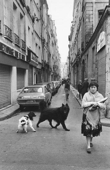 Roger Melis: Rue Marie-Stuart, Paris 1982© Nachlass Roger Melis / Mathias Bertram