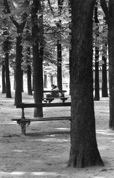 Roger Melis: Jardin du Luxembourg, Paris 1982© Nachlass Roger Melis / Mathias Bertram