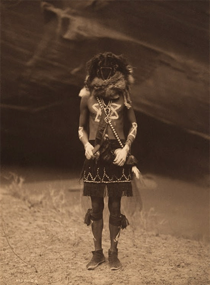 Tobadzischini (Born from Water) - Navaho, 1904Vintage platinum print, mounted to board7.8 x 5.75 in. (19.81 x 14.6 cm.)Estimate: $8,000-10,000more ...