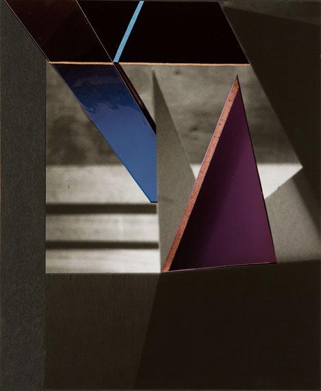 Tamara Lorenz: Morphopolis (Plan) #3, 2016Fotocollage, Papier, 38 x 28 cm