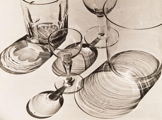 Albert Renger-Patzsch: Glasses, before 1928© Archiv Ann und Jürgen Wilde in der Pinakothek der Moderne, München / VG Bild-Kunst, Bonn 2020