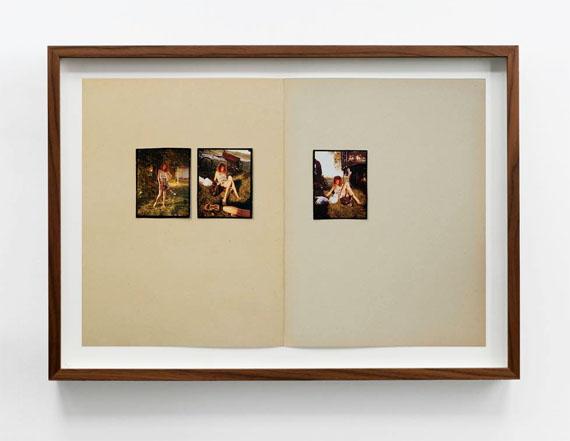 Gregory HalpernAus der Serie: Omaha Sketchbook (2005–2018), C-prints auf Archival Inkjet-Print montiert, je 45 cm x 30 cm © Gregory Halpern, Courtesy LOOCK, Berlin