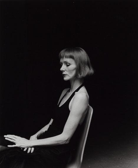 Manfred PaulAus: Steffi Scherzer, 2000, Silbergelatine auf Barytpapier, 34,3 x 28,3 cm (Motiv)© Manfred Paul, Courtesy LOOCK, Berlin