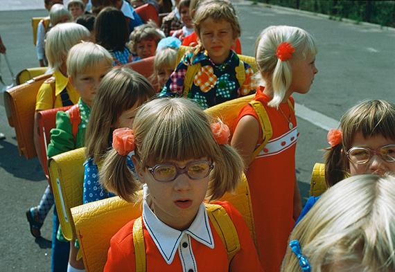 East Germany, 1974, school children in Greifswald  © Thomas Hoepker