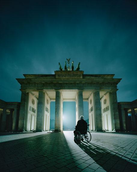 Andreas Mühe Kohl am Tor, Berlin 2014