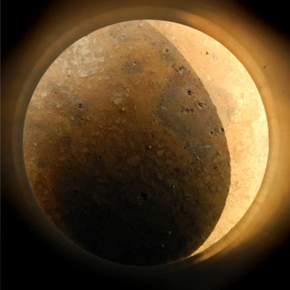 "Kurt Buchwald: Mond, aus ""Im Kreis der Wahrnehmung"", Cala Ratjada 2018"