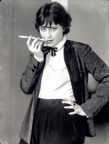 Lotte Jacobi   Die Schauspielerin Valerie Boothby, Berlin um 1930