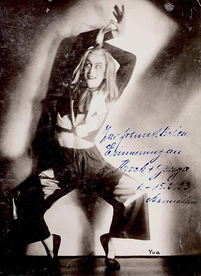 Yva   Der Tänzer Krock, ca. 1932, Silbergelatineabzug, Foto: DVM