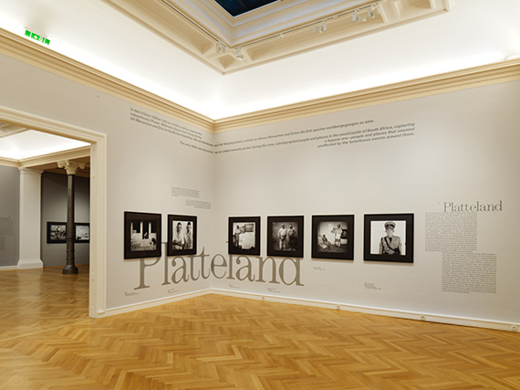 Installation shots Roger Ballen | The Place of the Mind, Francisco Carolinum Linz.