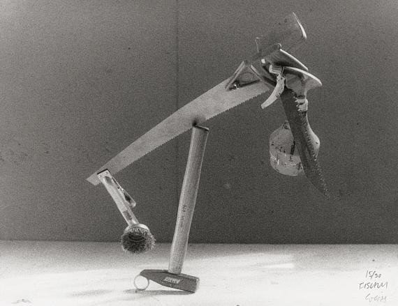 """Lot 4611Peter Fischli & David Weiss. """"Die misbrauchte Zeit"""". 1985. Vintage gelatin silver print"""