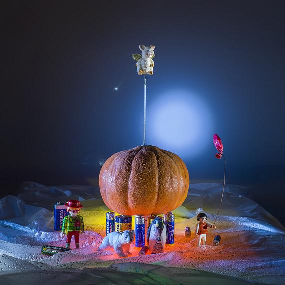 Andreas BotzianMüll Pumpkin, 2019photo print on canvas60 x 60 cmEdition of 5