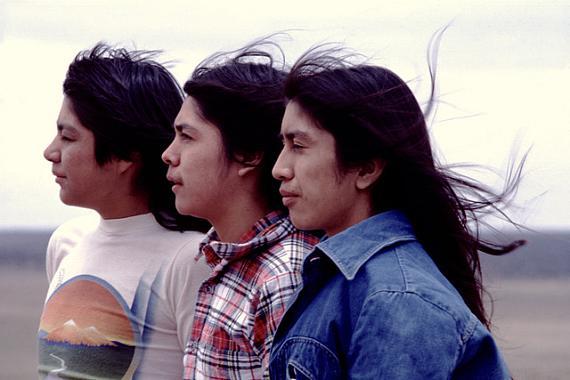 "© Christian vonAlvensleben/1977. ""ZUNI NATION"", NM - THREE PROUD YOUNG MEN"