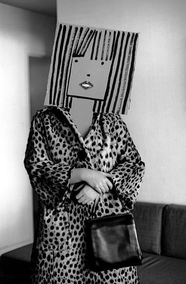 Inge Morath: ohne Titel, aus der Serie Masken mit Saul Steinberg, 1961 © Inge Morath/ Magnum Photos