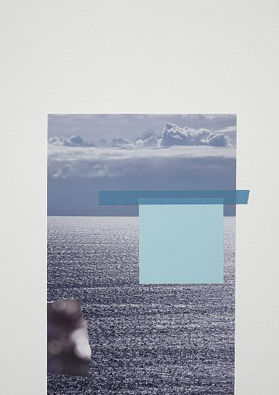 Jessica BackhausNew Horizon, 2017Mixed-Media-Collage42 × 30 cm© Jessica Backhaus, VG Bild-Kunst, Bonn 2021courtesy of the artist and Robert Morat Galerie, Berlin