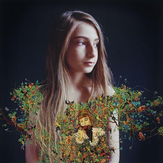 Elene UsdinLila d'après René Magritte, 2017 Pigment print65 x 65 cm
