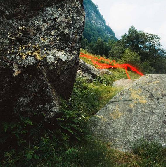 Jacques Pugin# 19 Graffti Rouge, 1984 Fresson print30 x 30 cm Edition of 3