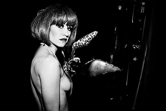 Nina with Leopard Pumps, 2010© Benita Suchodrev