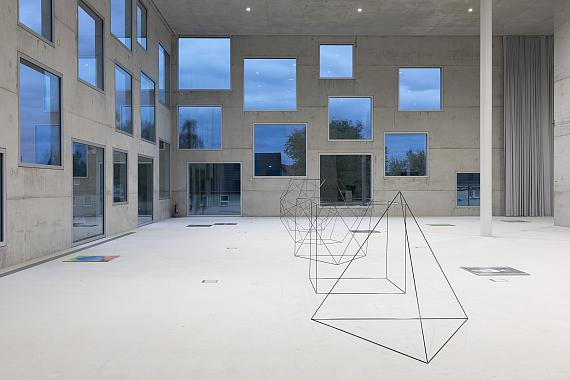 Adrian SauerPlatonische Körper, 2019Installationsansicht: Folkwang Universität der Künste, Essen 2019Foto: Adrian Sauer