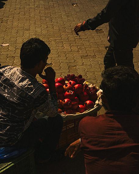 Kalpesh Lathigra, Pomegranates, 2017