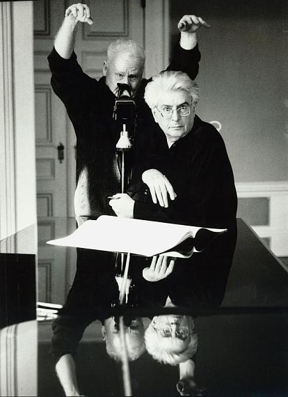 "Stefan Moses: Frank Michael Beyer aus der Serie ""Selbst im Spiegel"", München 1998 © Stefan Moses"