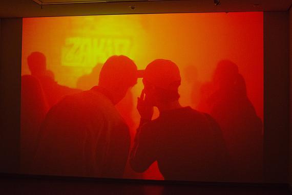 Tobias ZielonyMaskirovka, 2017Installation view, HD Video, Stop Motion, 8:46 minCourtesy KOW, Berlin© Tobias Zielony