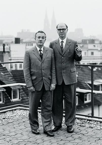 Andrea Stappert: Gilbert und George, Köln, 1994