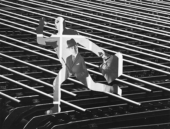 Stefan Moses: Maxhütte, Direction, 1964 © Stefan Moses
