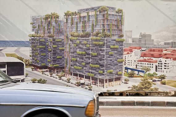 Randa Mirza: A privileged building in a privileged community aus der Serie: Beirutopia (2011–2019)