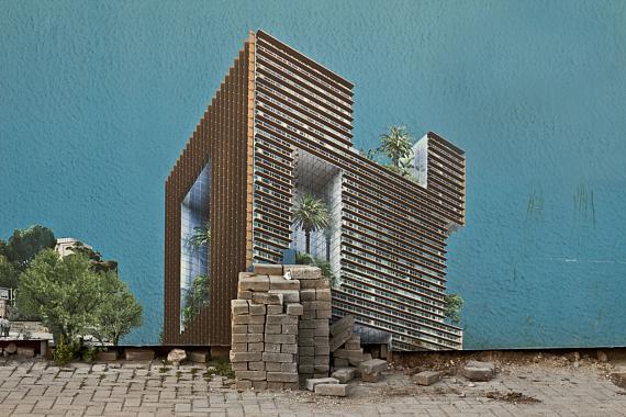 Randa Mirza: The selective residence aus der Serie: Beirutopia (2011–2019)