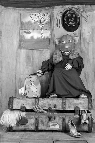 """Roger Ballen: Packed, 2015, from the series """"Roger the Rat"""""""