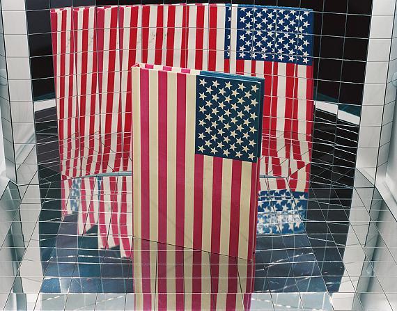 "Ketuta Alexi-Meskhishvilli: ""I like America and America likes me"", 2020, Pigment Print Courtesy the artist, LC Queisser, Tbilisi and galerie frank elbaz, Paris © Ketuta Alexi-Meskhishvilli"