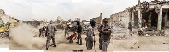 Mosul Road, from the series Leave and Let Us Go, 2020 © Alexandra Howland, courtesy of the artist.