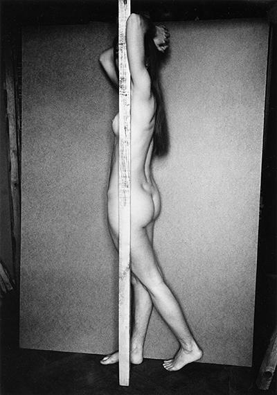 Nude, No.8, Gelatin silver print, 22x15.5cm, 1982 © Violeta Bubelytė